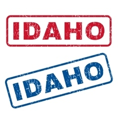 Idaho Rubber Stamps vector
