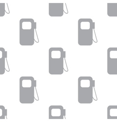 New Gas station seamless pattern vector image