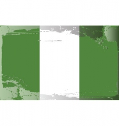 Nigeria national flag vector image