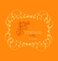 retro vintage badges and label logo graphics vector image