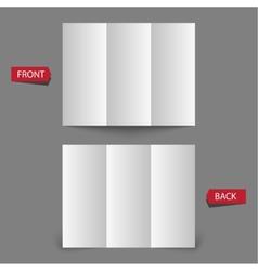 White blank vector