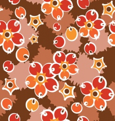 crimson pattern vector image