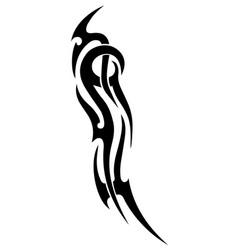 fantasy tattootattoos abstractionblack tribal vector image