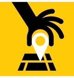 GPS Navigator vector image vector image