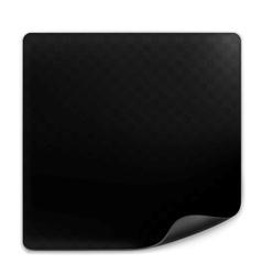 Black page vector image vector image