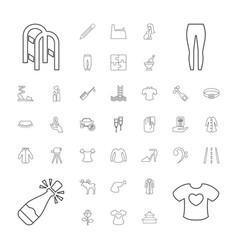 37 sketch icons vector