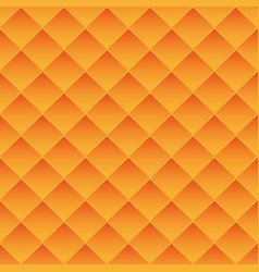 Abstract background orange tiles vector