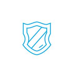 award badge thin line stroke icon award vector image