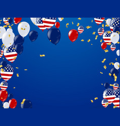 fourth of july 4th of july holiday banner vector image