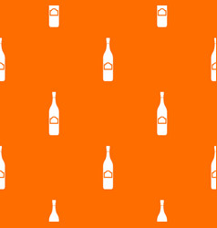 one bottle pattern seamless vector image
