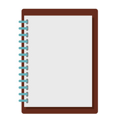 sketchbook icon isolated vector image
