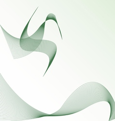 background with abstract bird vector image vector image