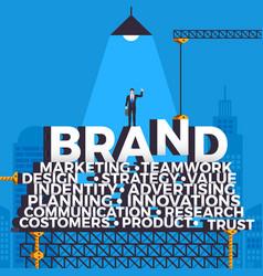 Building brand vector