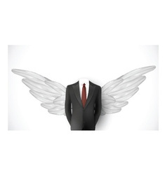 Business suit Wings vector