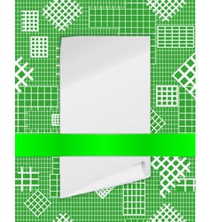 checkered structure vector image