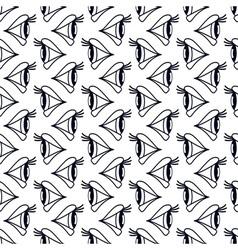 Eyes seamless pattern vector