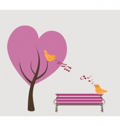 Lovers park vector