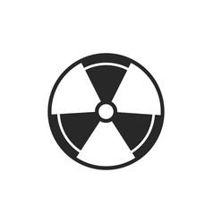 Radiation icon vector