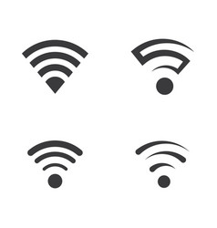 Signal wi-fi design vector