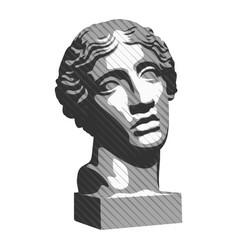 Statue 002 vector