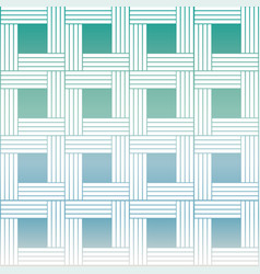 woven pattern in soft colors vector image