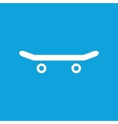 Skateboard icon simple vector image