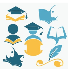 study and diploma vector image vector image