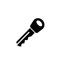 car key flat icon vector image