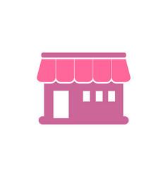 market store logo vector image