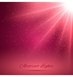 Abstract Background with Rays of Light vector image