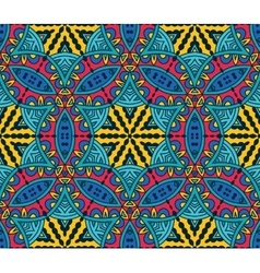 Abstract Tribal ethnic geometrical ornament vector image