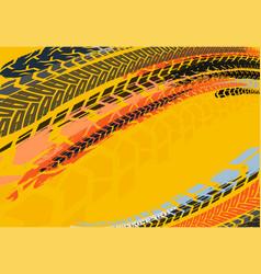 automotive tire background 23 vector image