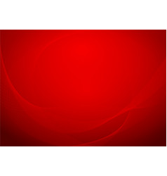 background with folded red royal silk vector image