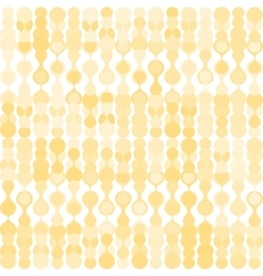 Beige metaball seamless pattern vector image