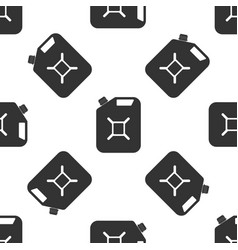 Canister for gasoline seamless pattern diesel gas vector