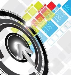 digital background design vector image vector image