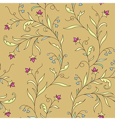 pattern modernist flower vector image