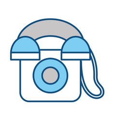 phone icon image vector image