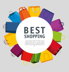 sale bags to super online promo vector image