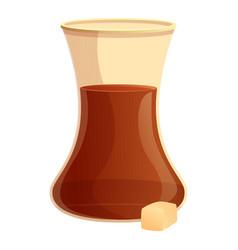 Turkish coffee icon cartoon style vector