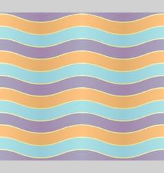 Wavy lines vector