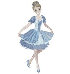Halloween Cinderella vector image