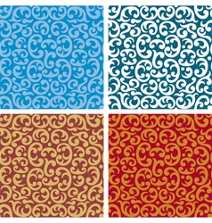 seamless pattern background vector image