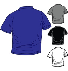 Shirt pack 1 vector image vector image