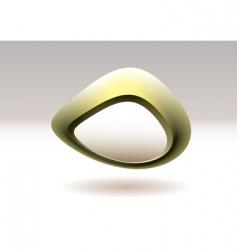 organic symbol vector image vector image