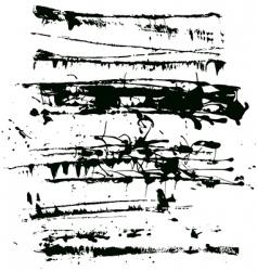 splatter edges vector image vector image
