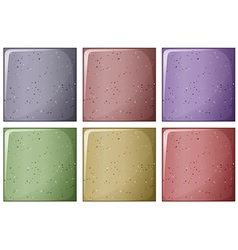 Bricks in different colors vector