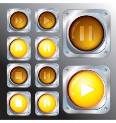 Control buttons vector
