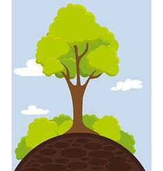 Ecology digital design vector