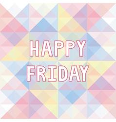 Happy Friday background3 vector